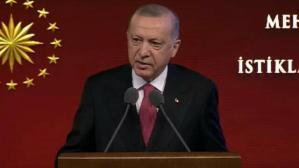 Cumhurbaşkanı Erdoğan Mehmet Akif Ersoy'u Anma Programı'nda konuşuyor