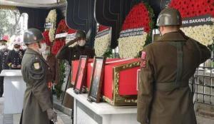 Emekli Orgeneral Halit Edip Başer'e son yolculuğuna uğurlandı