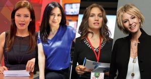 Erkek Egemen Türk Medyasından Güneş Gibi Yükselen 13 Kadın Gazeteci