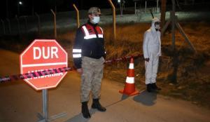 Erzurum'da Kovid-19 nedeniyle bir köy karantinaya alındı