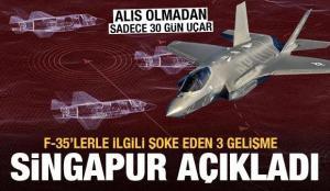 F-35'lerle ilgili hayati gelişme dünyaya duyuruldu: Sadece 30 günde çöp oluyor