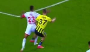 Fenerbahçe-Antalyaspor maçında tartışmalı karar!
