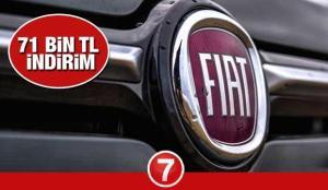 Fiat 71 bin TL indirim kampanyası! 2021 ve 2020 Fiat Egea Doblo 500 Fiorino fiyat listesi