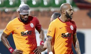 Galatasaray taraftarından Marcao ve Luyindama'ya tepki