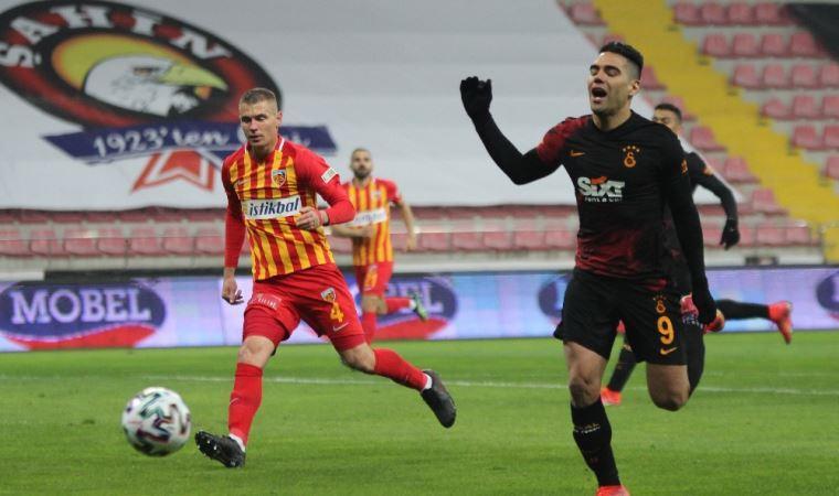 Galatasaraylı Radamel Falcao'dan 2 maçta 3 gol