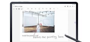 Galaxy Tab S7 ve Galaxy Tab S7+ tabletler için yeni bir güncelleme geliyor!