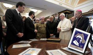 IKBY'den Papa için 'Sözde Kürdistan' haritalı pul
