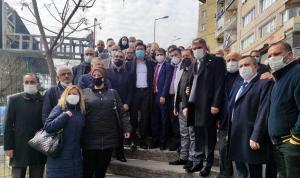 İYİ Partililerden, Divanhane Eski Karakol Binası önünde eylem