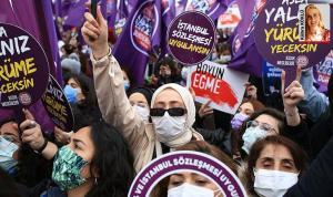 'Kadın hakları savunucuları kazanılmış haklarımızdan vazgeçmeyeceğiz' diyor