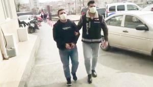 Kaldırım taşı şebekesi tutuklandı