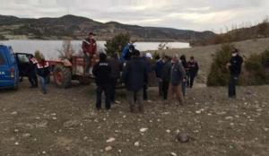 Kayıp şahsın cesedi barajda bulundu