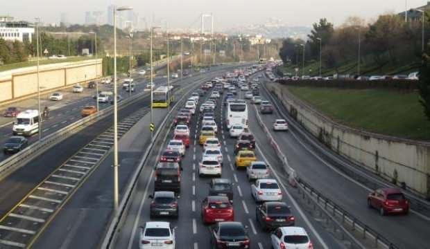 Kısıtlamanın olmadığı ikinci Cumartesi İstanbul trafiği