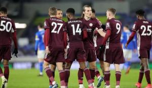 Leicester City, deplasmanda Brighton'ı 2 golle geçti
