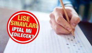 Lise sınavları ne zaman, nasıl yapılacak? MEB'den kritik sınav açıklaması!