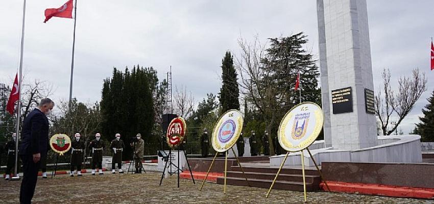 Lüleburgaz'da Çanakkale Zaferi töreni