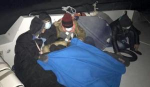 Marmaris'te 28 kaçak göçmen kurtarıldı