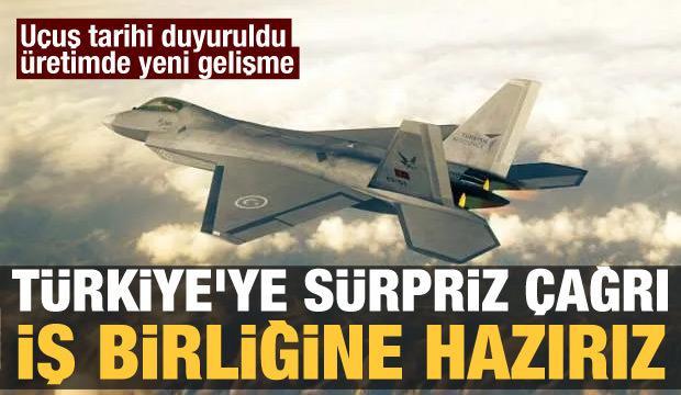 Milli Muharip Uçak için Rusya'dan sürpriz açıklama: Hazırız!
