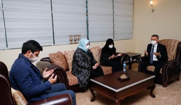 Oktay'dan şehit Korgeneral Erbaş'ın ailesine taziye ziyareti