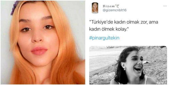 Öldürülen Gizem'den 'Türkiye'de Kadın Olmak Zor Ama Kadın Ölmek Kolay' Paylaşımı