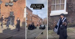 Peaky Blinders'ın Liverpool'da Devam Eden 6. Sezon Çekimlerinden Sosyal Medyaya Düşen Görüntüler