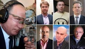 Rus casus, Putin'in ölüm listesindeki isimleri dünyaya duyurdu