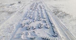 Rusya'nın Vorkuta kenti 'buz kent'e döndü