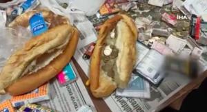Şaşırtan Dilenci Operasyonu: Ekmek Arasından Bile Para Çıktı