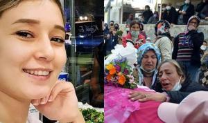 Serhat Kantaş isimli erkek tarafından öldürülen Bensu Narlı'nın cenazesi teslim alındı: 'Sarı papatyamı benden almayın'