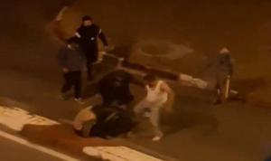 Sokak ortasında linç girişimi: Tekme tokat öldüresiye dövdüler