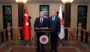 TBMM Başkanı Şentop'tan Milli Savunma Bakanı Akar'a taziye telefonu
