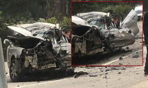 Tırla otomobilin çarpışması sonucu 5 kişi yaşamını yitirdi