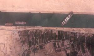 Ulaştırma ve Altyapı Bakanı Karaismailoğlu: Süveyş Kanalı'ndaki Gemiyi Türkiye Kurtarabilir