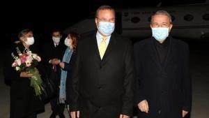 Ulusal Savunma Bakanı Hulisi Akar, Bükreş'e gitti