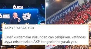 Yasaklar Sadece Vatandaşa mı? AKP'den Bir 'Lebalep' Kongre Daha…