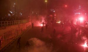 Yunanistan'da polis şiddeti protesto edildi