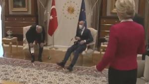 Alman Gazetesi Bild Oturma Düzenini Manşetine Taşıdı: 'Erdoğan Yanına Almadı'