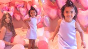 Khloe Kardashian'dan kızına gösterişli doğum günü partisi