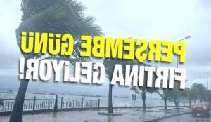 Meteoroloji uyardı: Kuvvetli rüzgar geliyor! Fırtına Perşembe günü saat kaçta başlayacak?