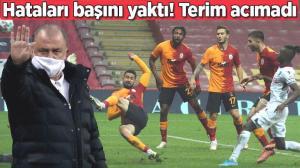 Son dakika haberi – Galatasaray'da yaptığı hatalar başını yaktı! Fatih Terim acımadı, biletini kesti