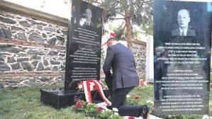 5 bin Yahudi'yi kurtaran konsolosun anıtı dikildi