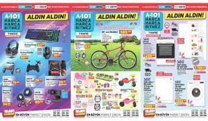 A101 11 Mayıs Aktüel Kataloğu! Bisiklet, beyaz eşya, elektronik, züccaciye ve mobilya ürünlerinde