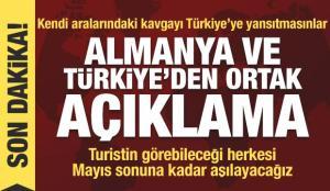 Bakan Çavuşoğlu'ndan Almanya'da aşı, turizm, Libya ve koltuk krizi açıklaması