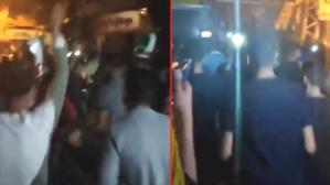 Binlerce Filistinli, İsrail ile Hamas arasındaki ateşkesi kutlamak için Mescid-i Aksa'ya akın etti