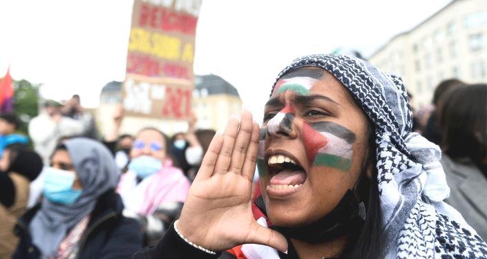Dünyada Filistin'e destek gösterileri