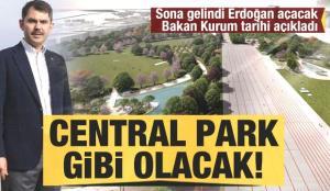 Erdoğan açacak! Bakan Kurum Ankara Millet Bahçesi için tarihi duyurdu