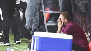 Hocalık kariyerinde ilk şampiyonluğunu yaşayan Sergen Yalçın, hüngür hüngür ağladı