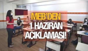 Okullar ne zaman açılacak? MEB 1 Haziran için düğmeye bastı! İlkokul, ortaokul ve liseler…