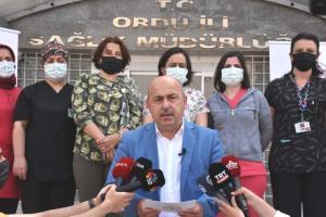 Ordu Sağlık Müdürü Kasapoğlu, Kovid-19'a karşı aşılama çalışmalarını değerlendirdi Açıklaması
