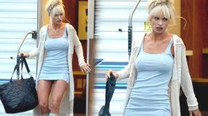 Pamela Anderson'a dönüşen Lily James'ın son hali olay oldu