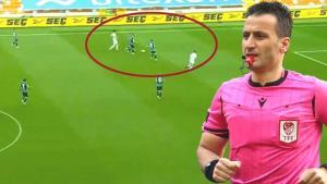 Son dakika –  Adana Demirspor – Balıkesirspor maçına damga vuran ofsayt! 'Türk hakemliği için skandal'
